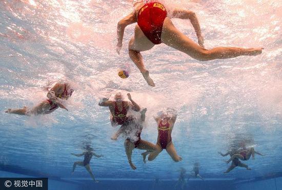 中国女子水球世锦赛崩盘 5-13负西班牙无缘八强