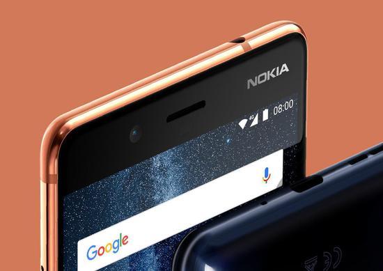599欧元起售 卡尔蔡司双摄旗舰Nokia 8发布