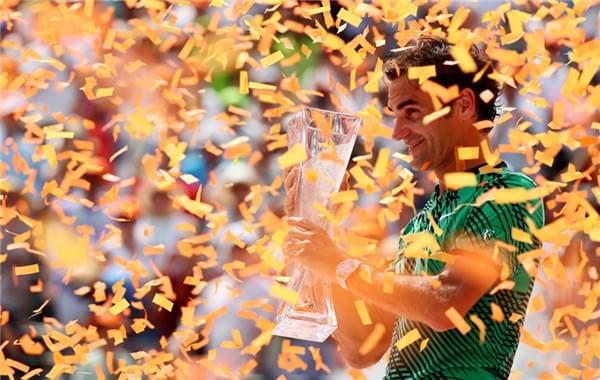 不可思议!费德勒3个月拿3冠