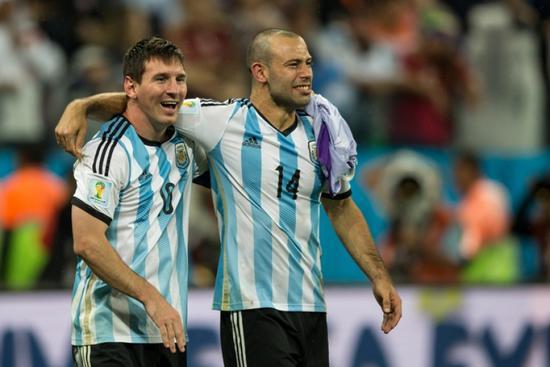 小马哥:梅西是外星人 阿根廷配得上世界杯冠军