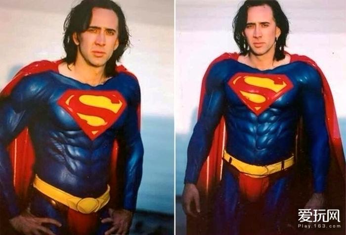 尼古拉斯版超人的定妆照