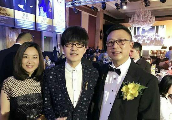 玖月奇迹王小海参加颁奖