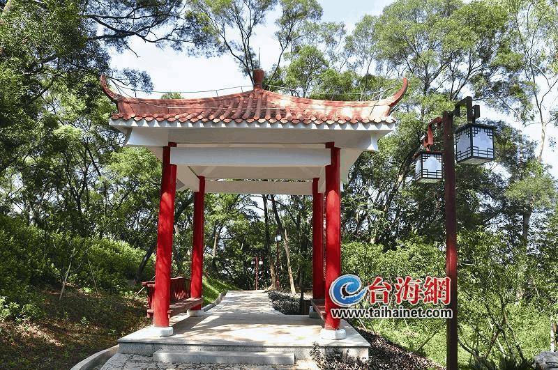 漳州芝山公园二期正式向市民游客开放