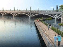 长春伊通河中段改造提升主体工程基本完工
