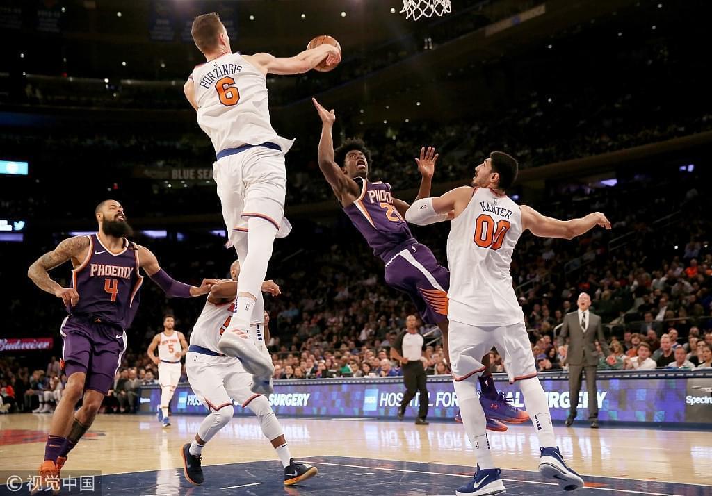场均30分的七尺投篮怪,还是NBA最恐怖篮筐保护者,纽约新王多可怕?
