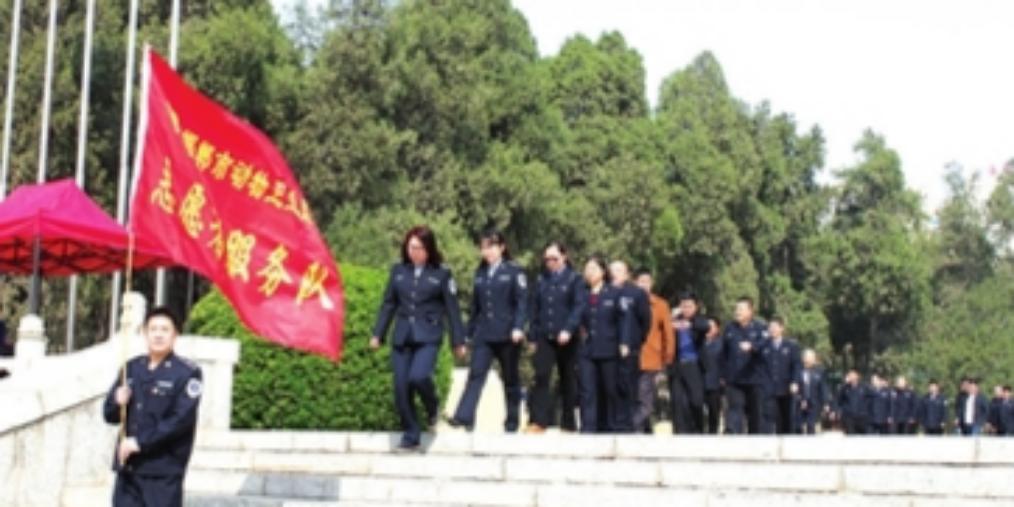 """邯郸社会各界开展""""我们的节日·清明""""活动"""