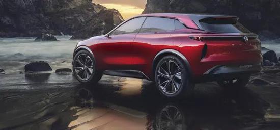 百公里加速4秒 别克Enspire概念车全球首发
