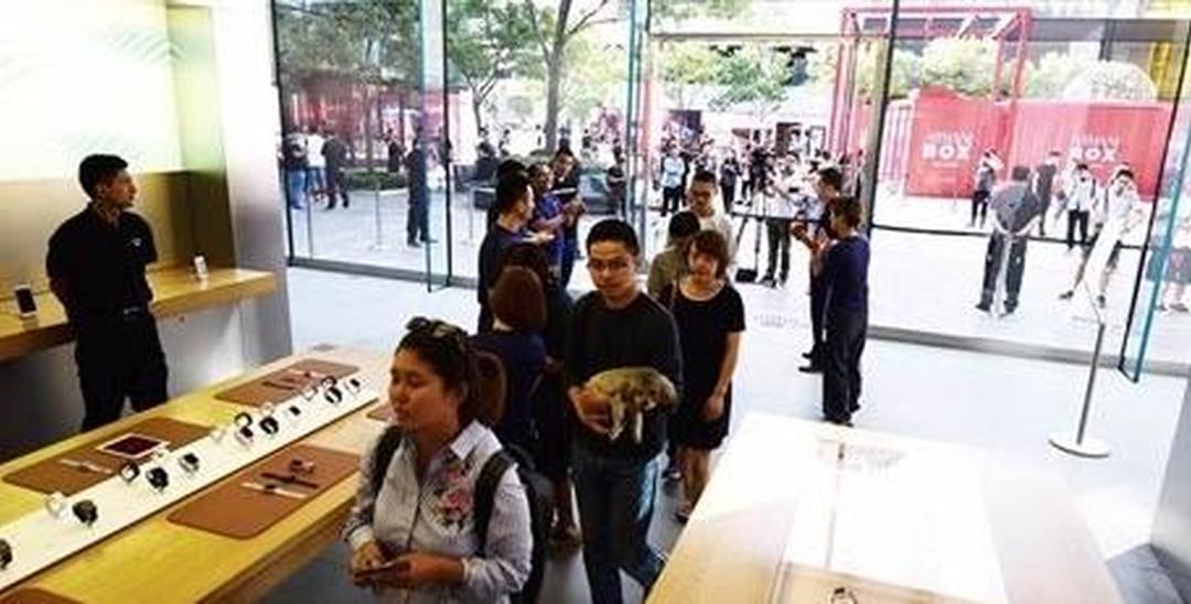 iPhone8开售 首日未出现大量排队现象