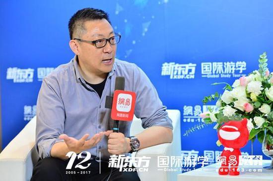 新东方教育科技集团CEO、著名英语教育与留学规划专家 周成刚