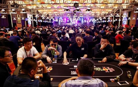 2016WPT中国赛主赛场Day1A赛事现场