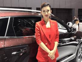 """2017上海车展:2017上海""""禁模""""车展的美女实拍 你喜欢哪个?"""