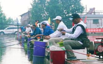 省运会群众体育组老年人钓鱼比赛昨日一决高