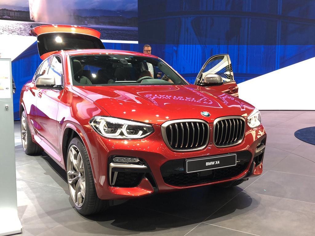 更像跑车的SUV 全新一代宝马X4正式发布