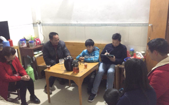 传递温暖 家校共融—大洞学校积极开展教师家访活动