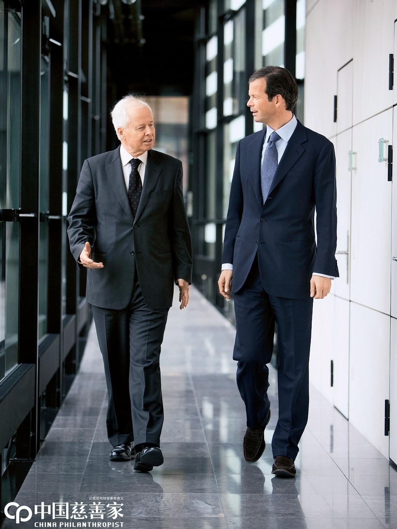 这位掌控万亿资产的欧洲王子 为何钟情于慈善事业
