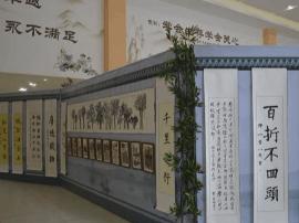 岳麓区一小学笔墨诗书传承中华传统文化