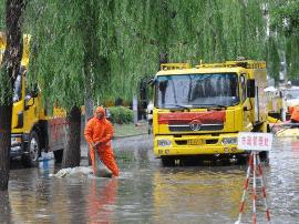 汛期来临 太原易积水地段已经严密安排