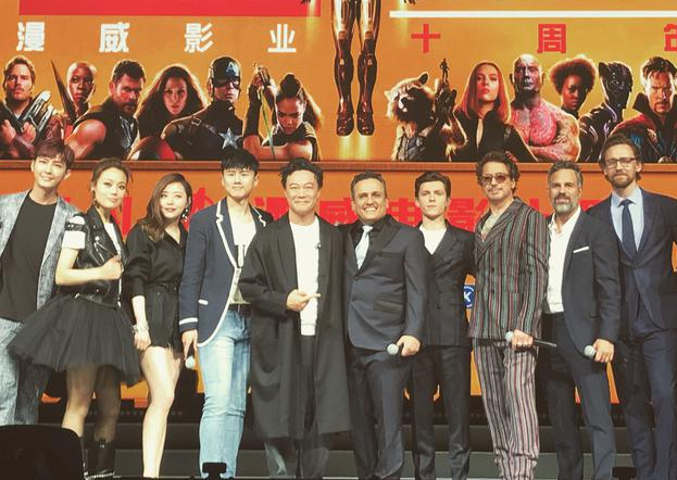 """漫威上海活动主持人道歉 否认叫小唐尼""""让开"""""""