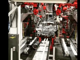 马斯克:每一辆Model 3都是在生产线上生产的