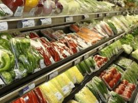 福州市副食品调控基地未发现灾情 市场供应充足