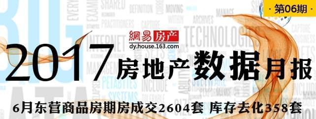 6月东营商品房期房成交2604套 库存去化358套