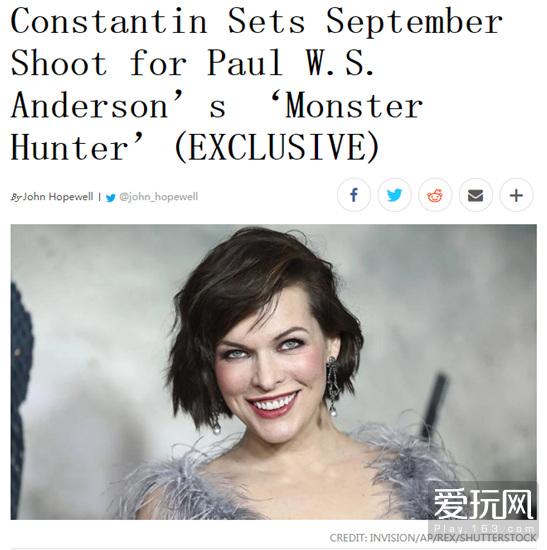 """怪物猎人真人电影或将开拍 又一部被""""糟蹋""""的经典?"""