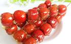 糖葫芦成最受欢迎零食走红俄罗斯 吃法有讲究