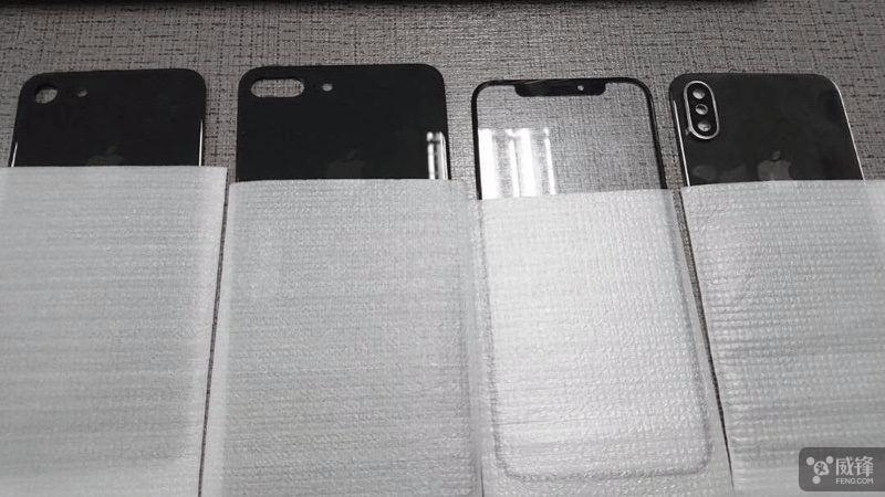 苹果新机再曝光!7s/7s Plus/8外形就这样了?