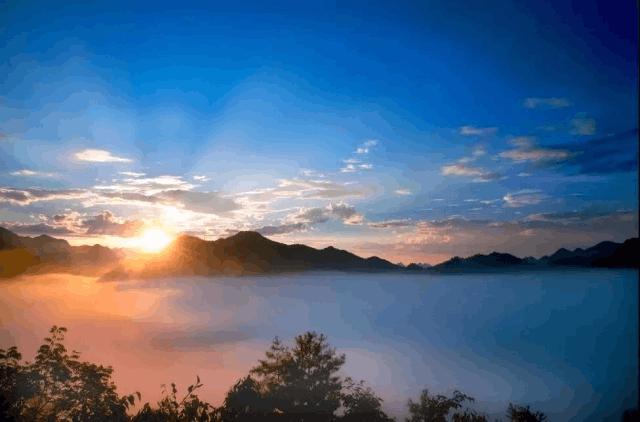 周末去开州看云雾美得不像话 仿若仙境