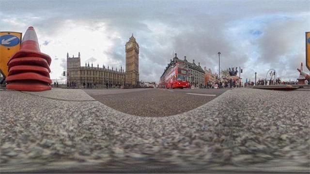从蚂蚁视角看伦敦地标建筑