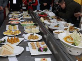 郑州第三届职业技能竞赛中式烹调、中式面点在郑州旅游职业学院隆