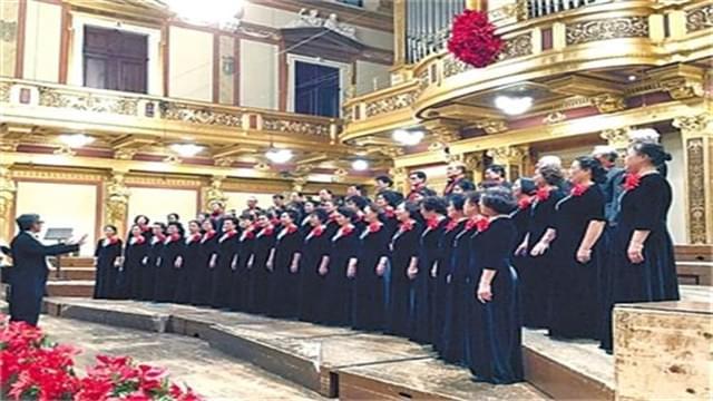 我市老年艺术合唱团 维也纳金色大厅夺金凯旋