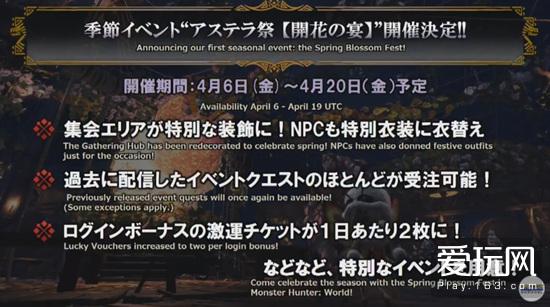 新内容不断增加 《怪物猎人:世界》3月14日直播总结