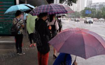 泸州强降雨结束 最高气温升至30℃左右
