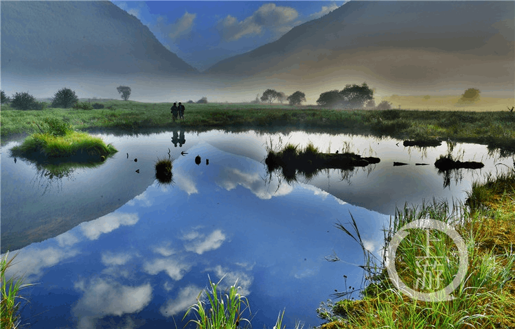 去巫山当阳大峡谷 体验重庆保存最好的高山湿地草场