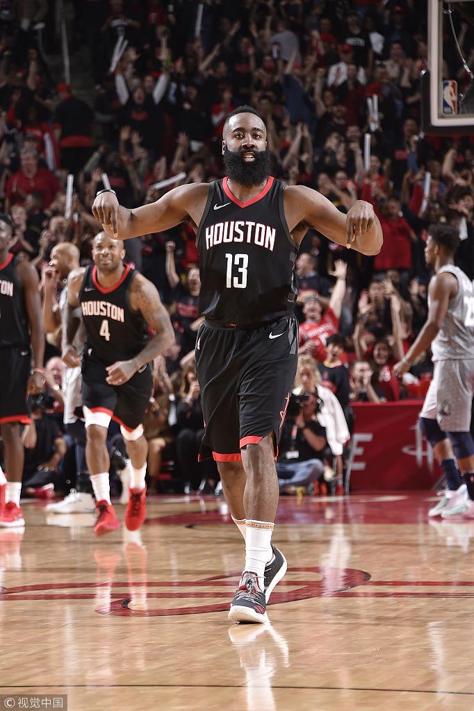 哈登:季后赛胜利比漂亮重要 投篮心态和常规赛一样