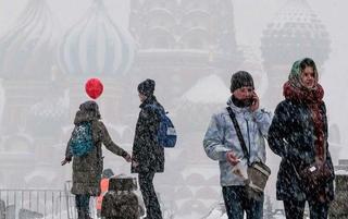 莫斯科降世纪大雪