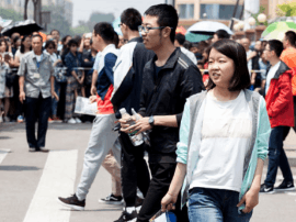 高考首日  太原交警共救助42名考生
