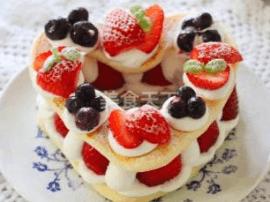 第四届烘焙大赛造色情怀 草莓
