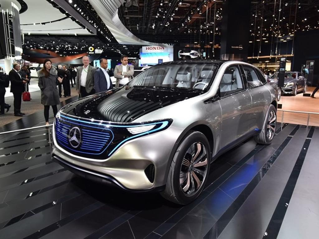 2019年交付 奔驰首款纯电动SUV开启预定