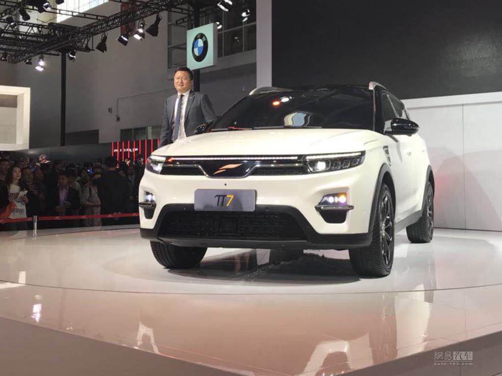 紧凑级SUV/2019年上市 云度π7正式发布