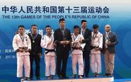 泰州小伙吴志强 全运会柔道66公斤级夺冠