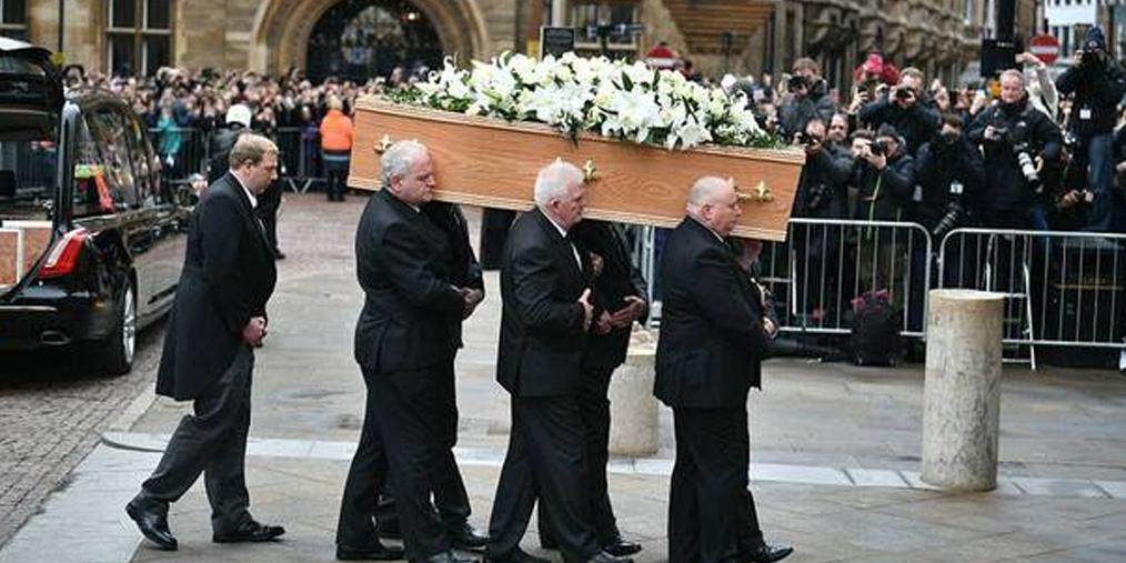 物理学家霍金葬礼在剑桥大学举行