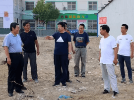 运城市水务局局长靳虎刚督查水库环境整治工作