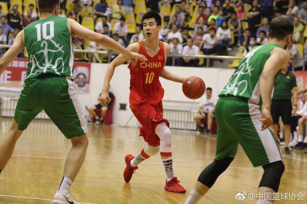 热身-U18国青男篮逆转复仇立陶宛U20 取得两连胜