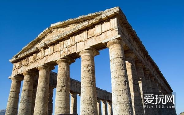 11石料如果跨度过大,自己就会断裂,所以罗马人的建筑柱子特别多