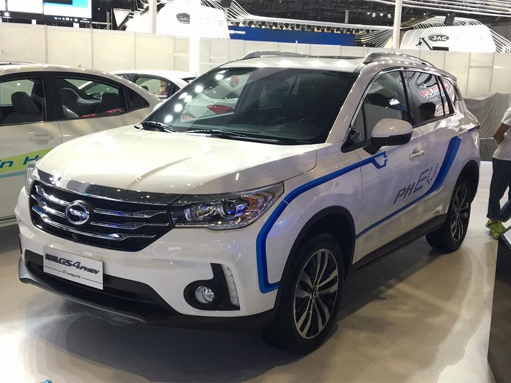 2017上海车展探馆:曝广汽传祺GS4 PHEV