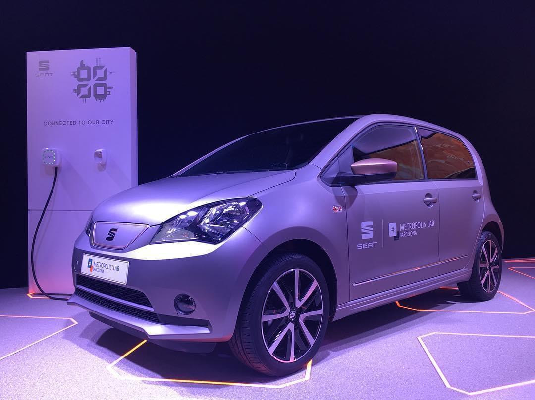 西雅特e-Mii电动概念车