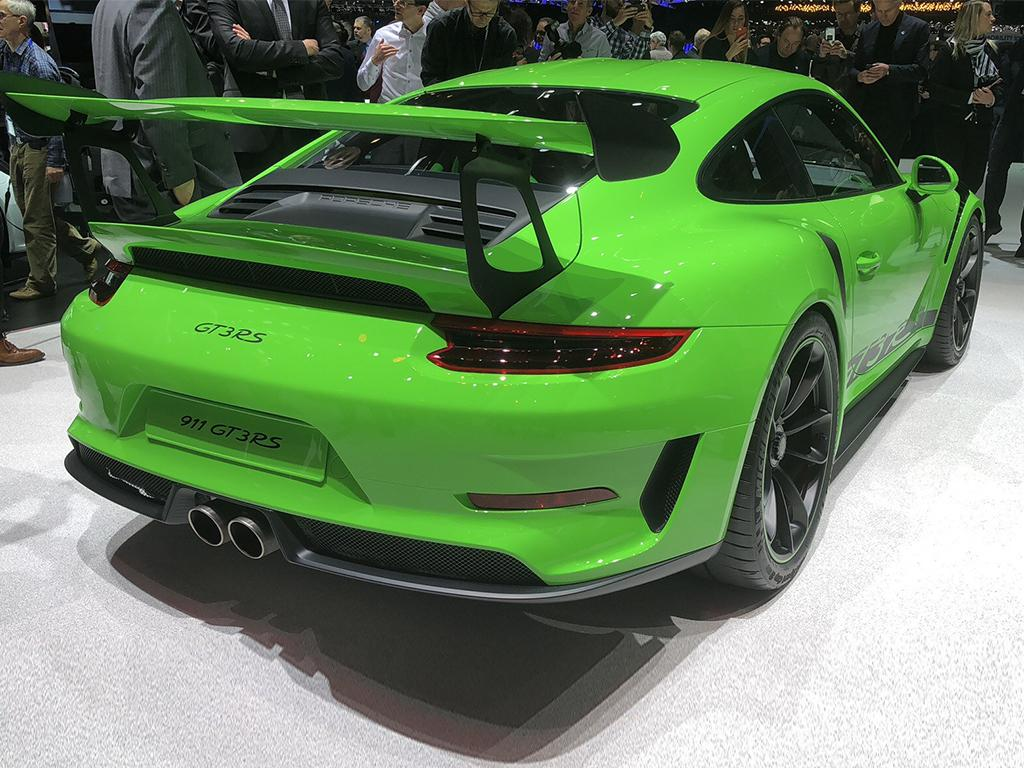 谁说自吸不行 保时捷新款911 GT3 RS发布