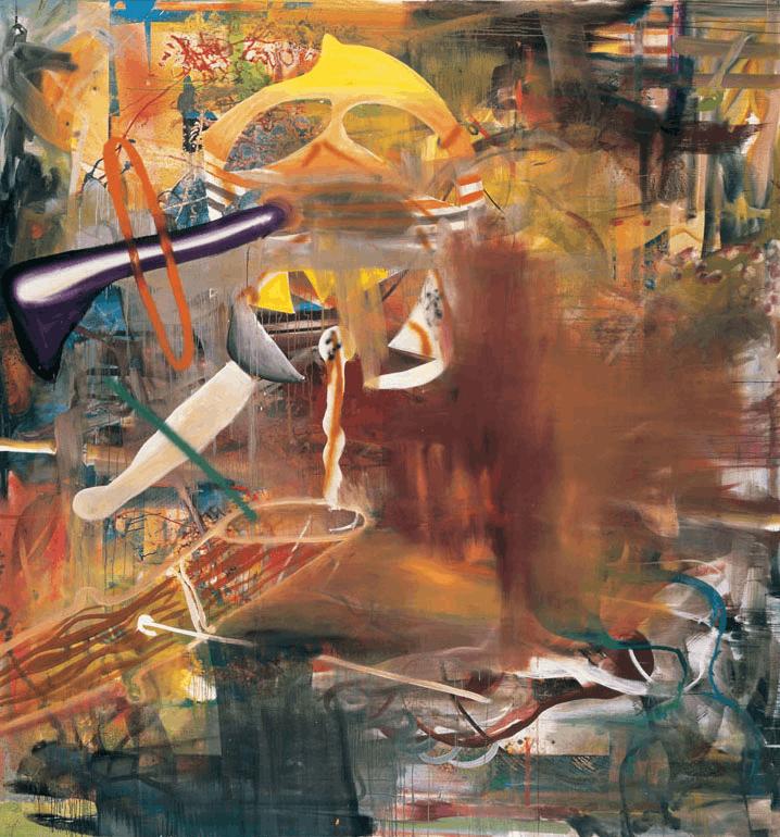 人物 | Albert Oehlen:一个画家的不羁灵魂